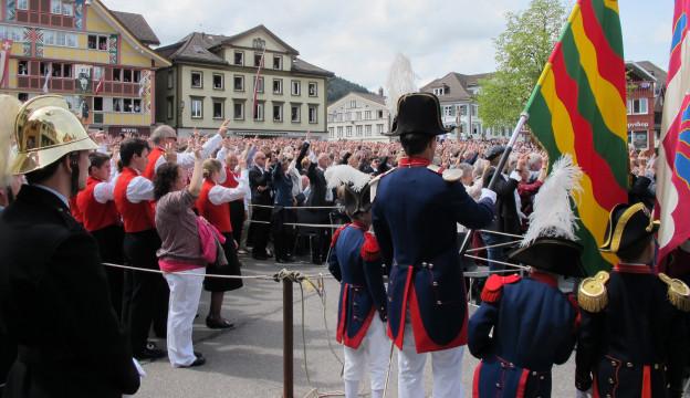 Seit 1378 entscheiden die Innerrhoder an der Landsgemeinde.