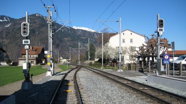 Am Bahnhof Malans wurde das Sicherheitssystem bereits erneuert
