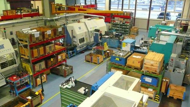 Produktionsräume der Gallus Gruppe