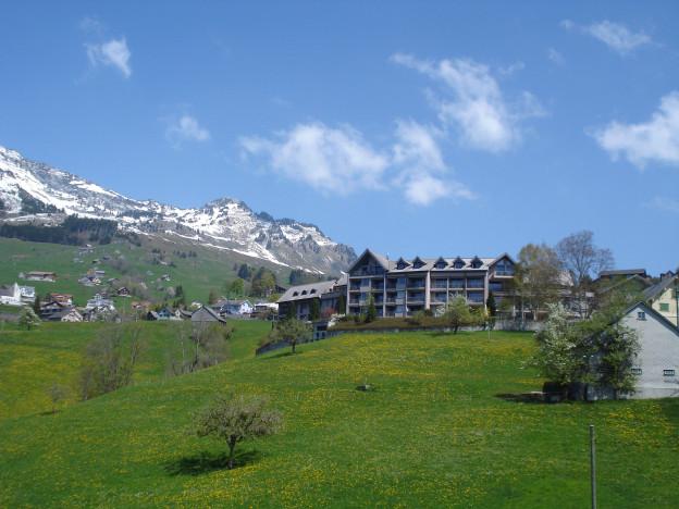 Aus dem bisherigen Kurhaus «Bergruhe» wird ein Asylantenheim.