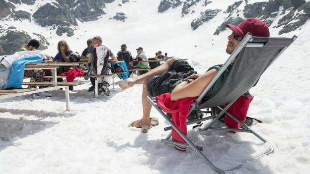 Vor allem die Deutschen zog es im März nicht mehr in die Schweiz