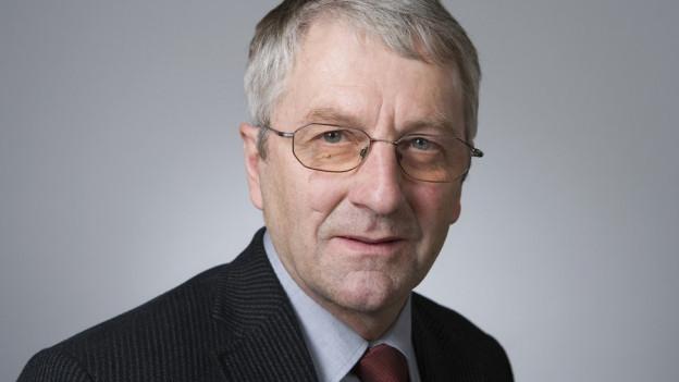 FDP-Nationalrat Walter Müller.