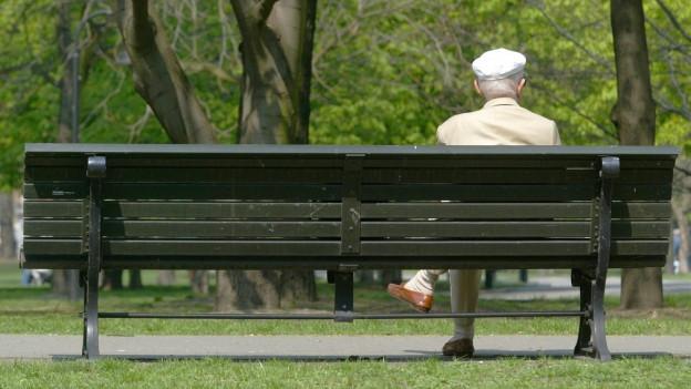 Italienische Senioren können sich in St.Gallen beraten lassen.