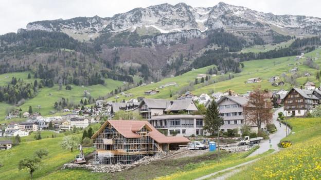 Ab Januar 2016 möchte der Kanton Asylbewerber in Amden unterbringen.