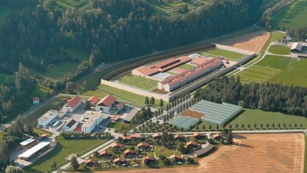 Neues Gefängnis in Realta
