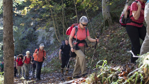 Vor allem der Sommer soll viele Senioren nach Graubünden locken.