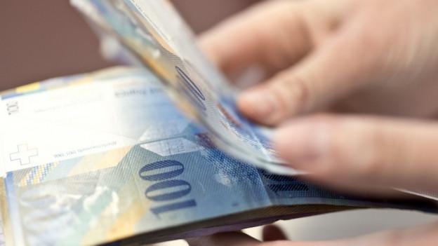 Kantone werden für ihre Budgetpolitik kritisiert.