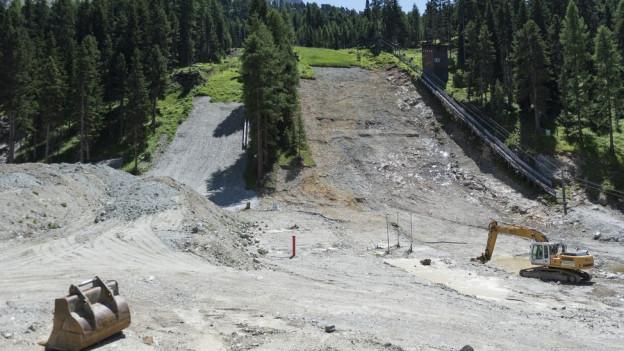 Die alte Schanze ist bereits weg: Ob der Neubau doch noch realisiert werden kann, ist unklar.