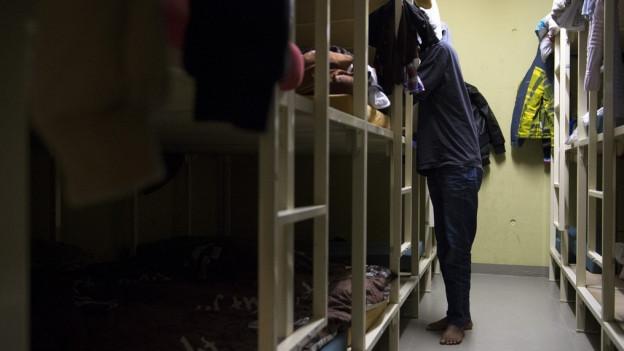In St. Gallen werden Asylsuchende eine Zivilschutzanlage bewohnen.