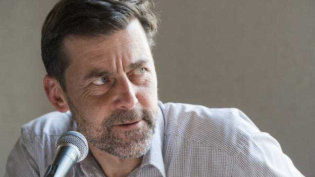 Autor Peter Stamm ist im Kanton Thurgau geboren.