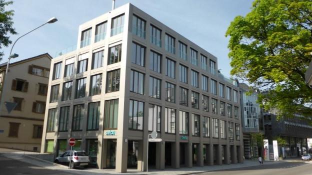 Im Gutenbergzentrum in Herisau bezieht der Spitalverbund Appenzell Ausserrhoden neue Räume.