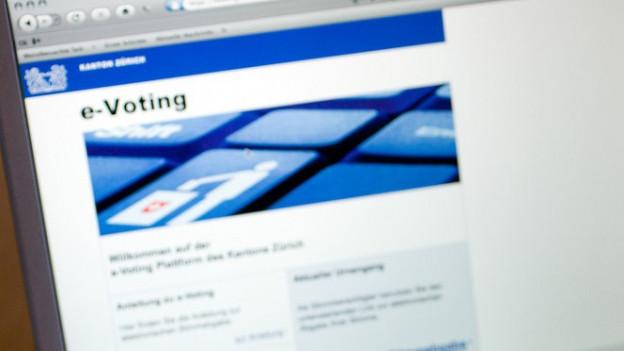 Das E-Voting-System der Ostschweizer Kantone weist Sicherheitsmängel auf.