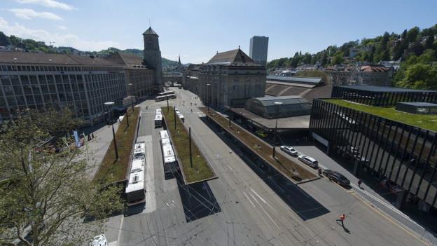 Neue Bus-Durchmesserlinie für St.Gallen