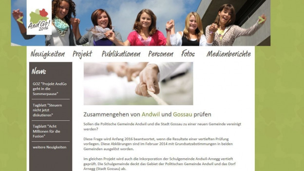Printscreen Webseite