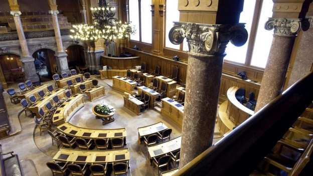 Ständeratssaal: Die SVP überlässt das Feld der CVP und FDP.