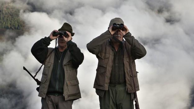Im Kanton Graubünden sind während der nächsten Woche die Jäger unterwegs.