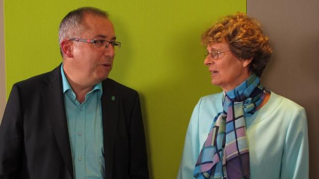 Thomas Ammann und Margrit Kessler