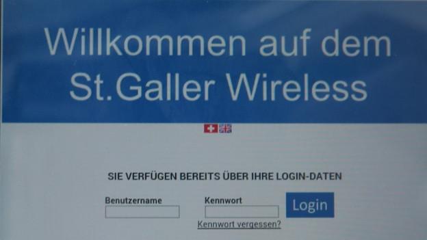 St.Gallen hat in der Stadt weniger Elektrosmog.