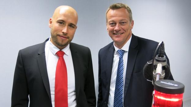 Nationalratswahlen Glarus: Jacques Marti (SP) und Martin Landolt (BDP)