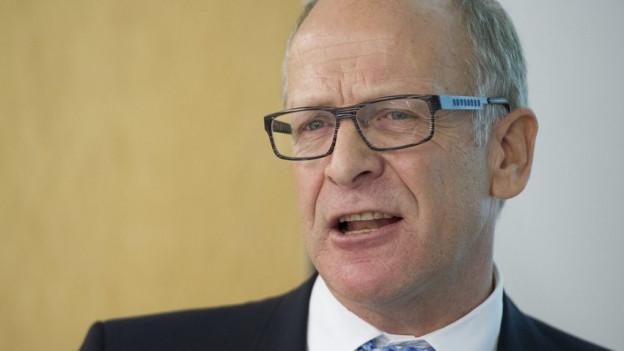 St. Galler Finanzchef Martin Gehrer