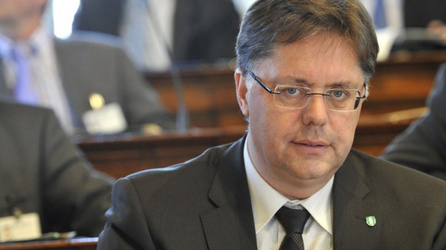 Die SVP St. Gallen wählte Herbert Huser 2012 zum neuen Kantonalpraesidenten.