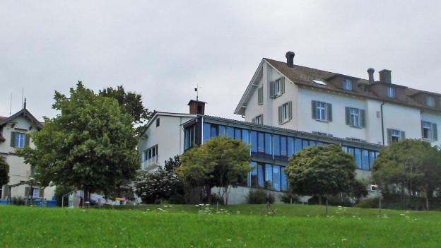 Asylzentrum Landegg oberhalb von Rorschacherberg.