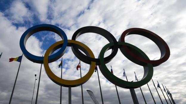 Die Befürworter die olympischen Spiele 2026 nach Graubünden holen.