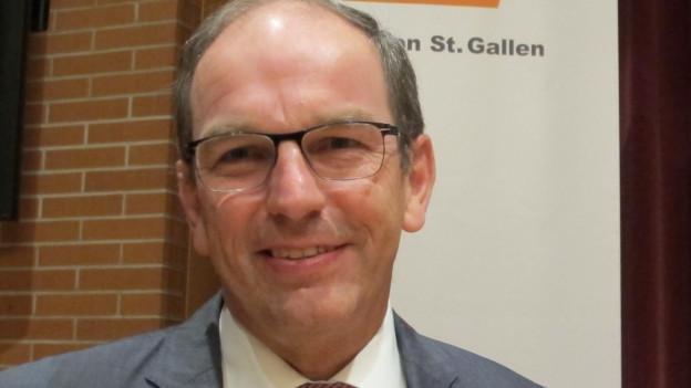 Die St. Galler CVP schickt Bruno Damann ins Rennen um einen Sitz in der Kantonsregierung.