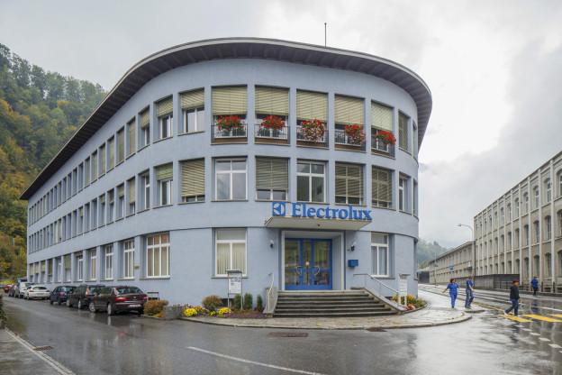 Das Electrolux-Areal in Schwanden
