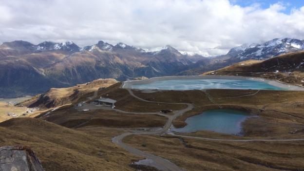 Grösster Speichersee der Schweiz liegt im Oberengadin
