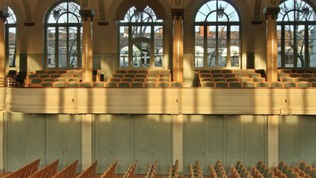 Tonhalle St. Gallen verbessert Akustik