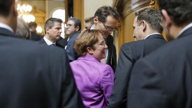 Magdalena Martullo-Blocher politisiert seit Anfangs Dezember in Bern.