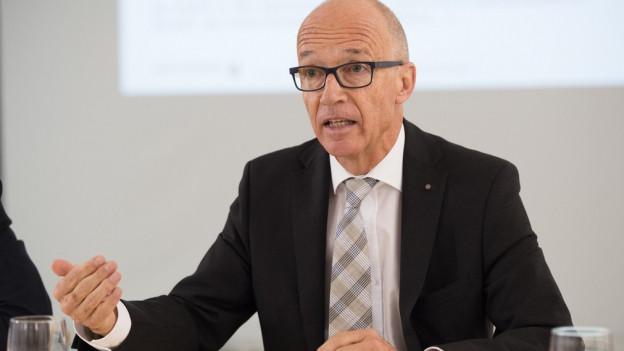 St.Galler Stadtparlament Thomas Scheitlin spricht von einem akzeptablen Budget