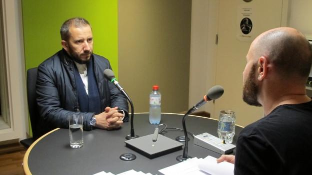 Bekim Alimi ist neuer Präsident des Dachverbands der islamischen Gemeinden in der Ostschweiz.