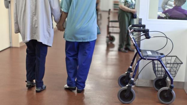 Im Kanton Thurgau sollen die Anforderungen an das Altenpflegepersonal gesenkt werden.