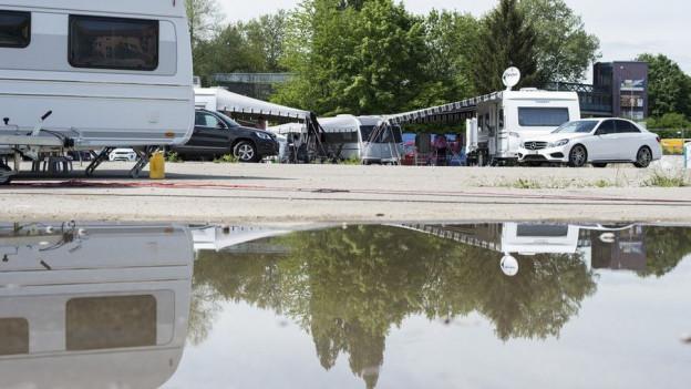 Ein Durchgangsplatz für Fahrende wird in Gossau nochmals zum Thema.