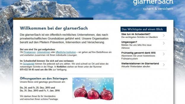 Die Glarner Regierung will, dass bei der «Glarnersach» wieder Ruhe einkehrt