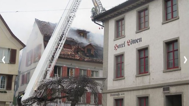 Altstadtbrand in Steckborn