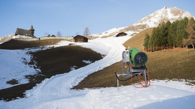 Bergbahnen befürchten wegen des Schneemangels massive Umsatzeinbussen.