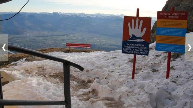 Wandern im Alpstein: Im Winter lauern viele Gefahren.