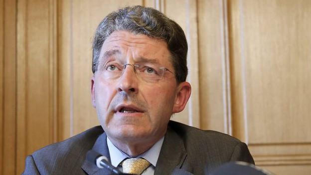 Möglicher Kandidat: Heinz Brand
