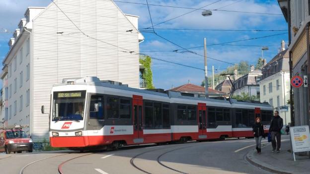 Die Trogenerbahn in St. Gallen