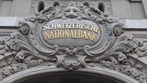 Die Kantone erhalten Geld von der Nationalbank