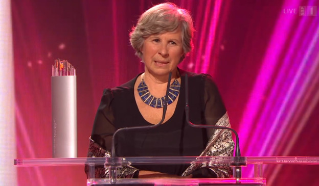Katrin Hagen bei den Swiss Awards