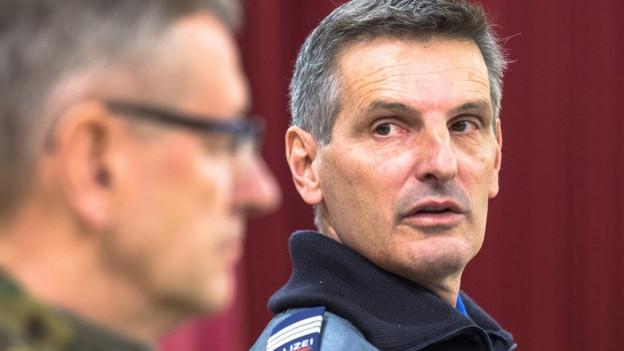 Waler Schlegel, Kommandant der Kantonspolizei Graubünden, zieht eine positive Bilanz zum WEF 2016