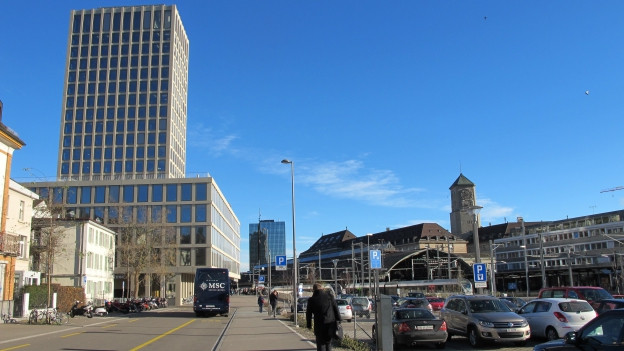 Neugestaltung Bahnhof Nord
