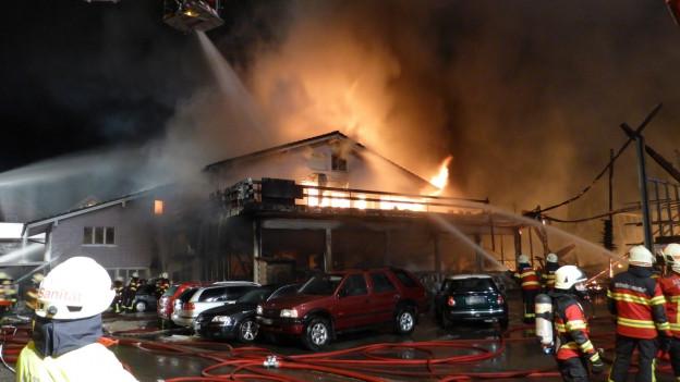 Brand in Diepoldsau