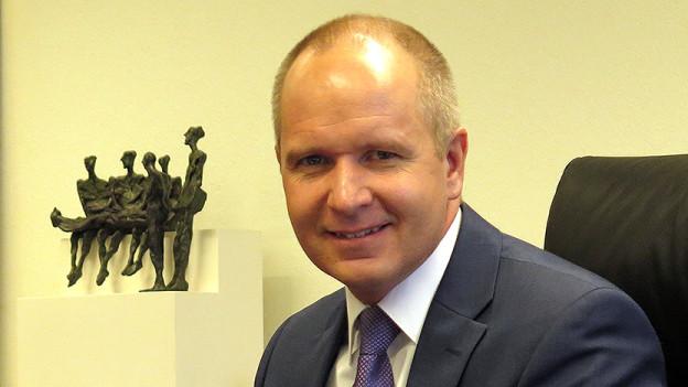 Stefan Kölliker, der Bildungsdirektor