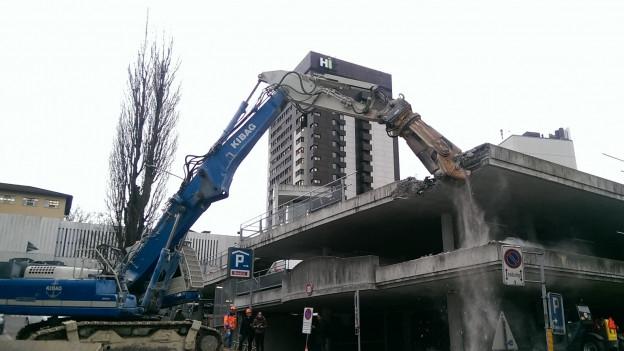 Bau des Kantonspitals St. Gallen: Es geht los