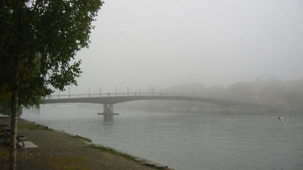 Rhein ausgebaggert